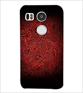 PrintDhaba Pattern D-2138 Back Case Cover for LG NEXUS 5X (Multi-Coloured)