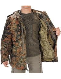 Mil-tec m65 veste militaire de l'armée américaine avec doublure motif camouflage