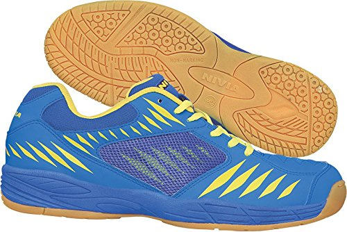 Nivia Super Court Badminton Shoes, UK 12 (Blue)
