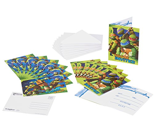 turtles-einladungskarten-8-stk-mit-kuverts-youre-invited