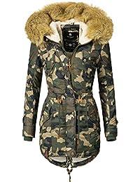 Navahoo Damen Winter Mantel Winterparka La Viva (Vegan Hergestellt) 11 Farben  XS-XXL b61863bd00
