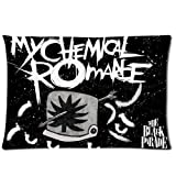 New Arrival Pillowcases Cover My Chemical Romance Queen Pillow Cover Design For MCR Fans Zippered Pillowcase Personalize
