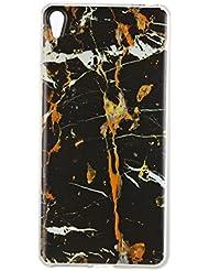 Sony Xperia E5 Coque, Sony Xperia E5 Housse, Sony Xperia E5 Etui,BONROY® Motif coloré Ultra-Mince Thin Soft Silicone Etui de Protection pour Souple Gel TPU Bumper Poussiere Resistance Anti-Scratch Case Cover Couverture Pour Sony Xperia E5