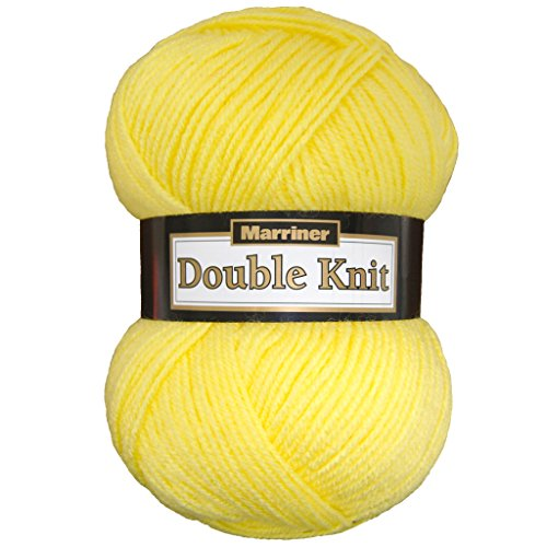Marriner Double Knit 100g | DK Knitting/Crochet Yarn | 100% Acrylic (Sunrise, Single Ball)