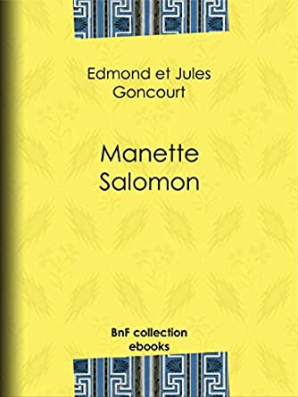 Manette salomon french edition ebook edmond de goncourt jules de print fandeluxe Gallery