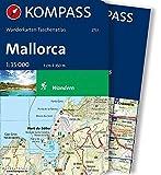 Mallorca: Wanderkarten-Taschenatlas (KOMPASS-Wanderkarten-Taschenatlas, Band 2753) -