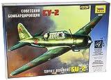 Zvezda 1/48 Soviet Bomber SU-2 # 4805