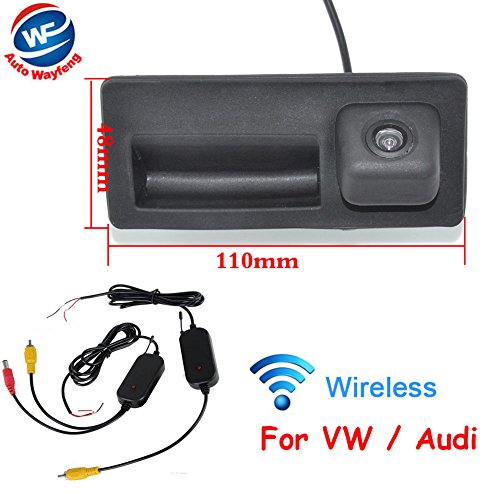 Auto Wayfeng WF® Drahtlose Rückfahrkamera HD CCD Wireless Auto HINTERE Ansicht Backup Kamera FÜR Passat B5 / B6 (MAGOTAN) / Cross LAVID/Shara / TIGUAN/TOUREG / Golf Sedan/Cross Golf/SAGITAR - Ccd-auto-kamera