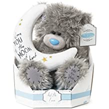 me to you sg01w4100 tatty teddy ours en peluche avec lune et inscription love you