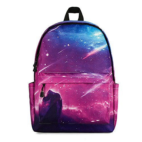 Raffreddare zaino casual, oxford resistente all'usura spinning riding printing zaino outdoor hiking laptop zaino trend unisex school bag (design : b)