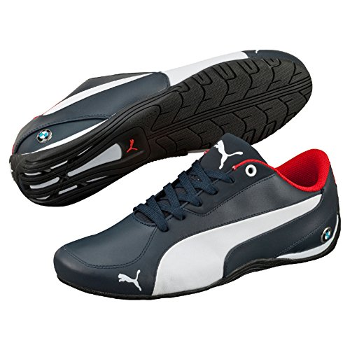 Puma Ms Drift Cat 5 Nm, Baskets Basses Homme Bleu (Bmw Team Blue/White)