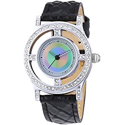 Rainbow E/Motion Of Color Women's Audrey Life Analogue Quartz Watch AU10PS-BL3-li