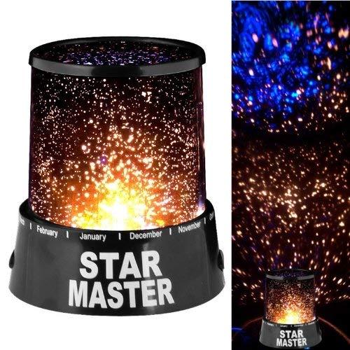 Almand Mall Star Master LED Projector Night Lamp (Black) (Star Master)