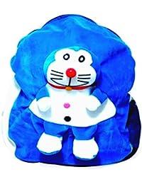 Art-N-Soul Doremon Soft Cartoon Toy Cute Kids Plush Backpack/ Birthday Return Gift/ School Bag/ Travelling Carry...
