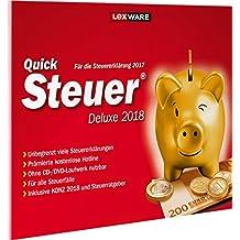 Lexware QuickSteuer Deluxe 2018 in frustfreier Verpackung / Einfache und schnelle Steuer-Software für die private und gewerbliche Steuererklärung / Kompatibel mit Windows 7 oder aktueller