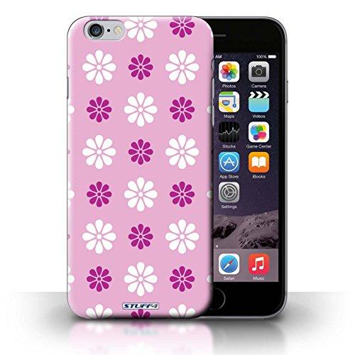 Kobalt® Imprimé Etui / Coque pour iPhone 6+/Plus 5.5 / Rose conception / Série Motif avec pétales Rose