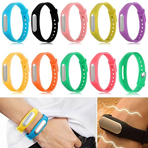 Colorful Replacement Band / Strap For Xiaomi Mi Band (Orange, Blue, Green, Purple, Etc.) Colour May Vary Pack of 1  available at amazon for Rs.199