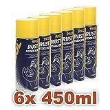 MANNOL 9932 Rostlöser Ultra Molibden »RUST DISSOLVER« - 6x450ml - Spray