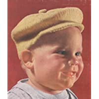 Little Jack Horner Newsboy Hat Cap Tam for Baby Vintage Knit Knitting Pattern (English Edition)