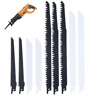 10x Klinge Säbelsäge Combo Holz & Metall Für Bosch Makita Dewalt 3 x R1021L 3 x R644D 2 x R622BF 2 x R922BF