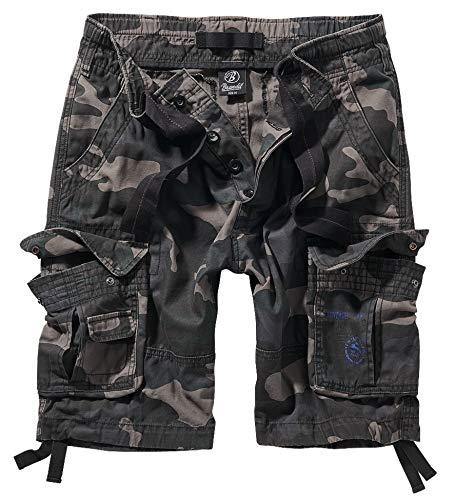 Brandit Pure Vintage Shorts, Darkcamo XXL