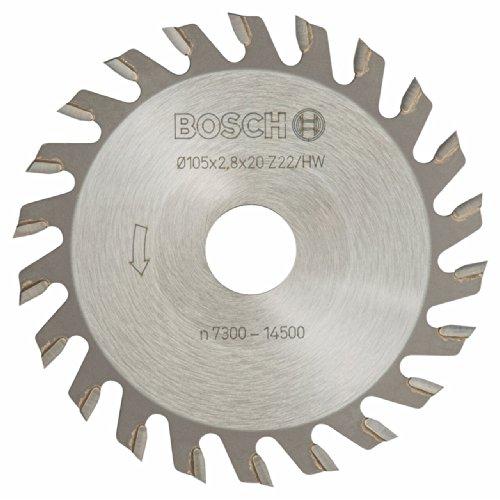 Professional 22% Zähne (Bosch Professional Nutfräser 105 mm, 22 Zähne)