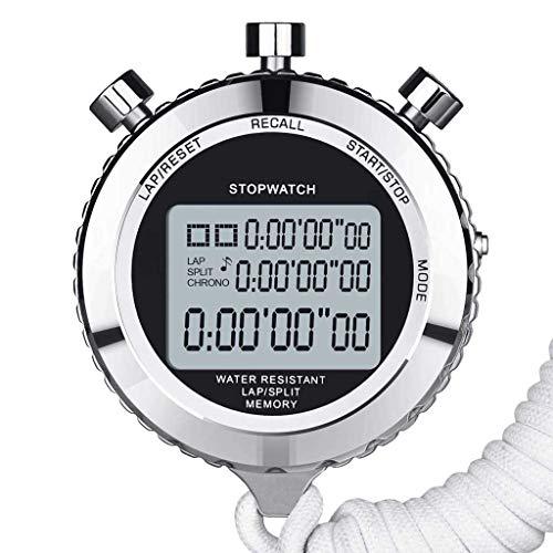 SXY Silencio Cronómetro Cronómetro Metal Deportivo