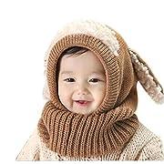 ❀Il pacchetto include: 1 PC Bambini sciarpa&cappello
