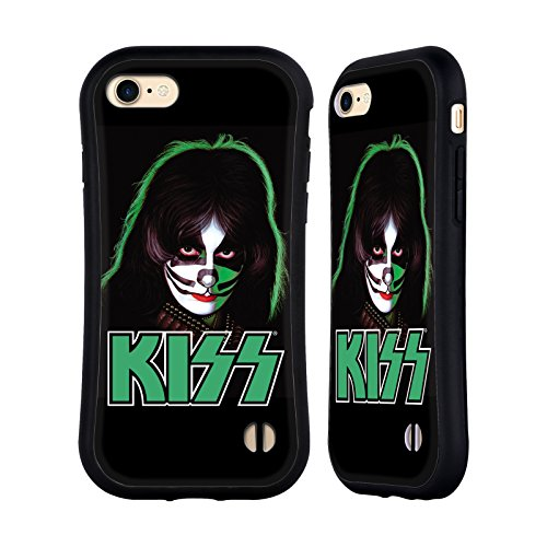Ufficiale KISS Peter Criss Solo 2 Case Ibrida per Apple iPhone 7 / 8 Peter Criss