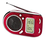 Electrolux AEG WE 4125 - Radio digital, color rojo