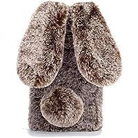 Nadoli Hase Pelz Hülle für iPhone 6 (4.7 Zoll),3D Kaninchen Ohr Netter Case Warme Winter Weiche Flauschige Plüsch... preisvergleich bei billige-tabletten.eu