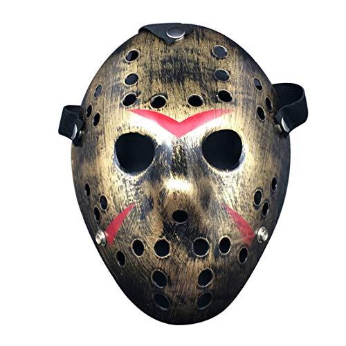 biteri Jason Mask Für Anonyme Versammlungen Halloween Kostüm Protestieren Rave Halloween-Party Für Männer Erwachsene Jungs Alter Mann Frauen - Halloween Rave Kostüm Jungs