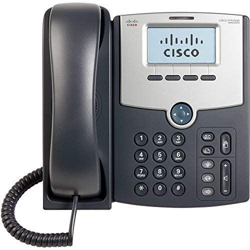 CISCO SYSTEMS SPA502G 1 Line IP Phone With Display PoE PC Port - (Phones > IP & POTS Phones) (Certified Refurbished) Display Poe Pc
