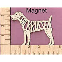 Black Lab Dog laser cut and engraved wood Magnet Great Gift Idea
