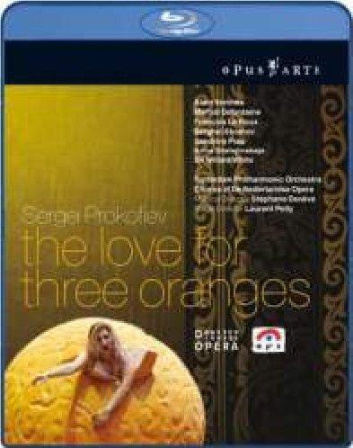 L'Amour Des Trois Orange [Blu-ray] [Import italien]