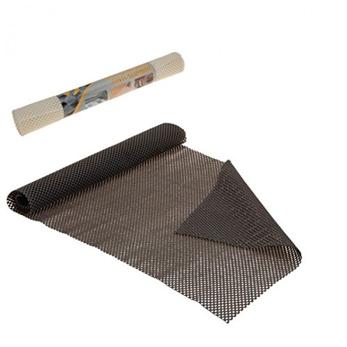 Anti Rutsch Matte creme grau rutschmatte Teppich Gummimatte , Farbe:Creme