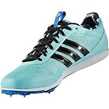 adidas distancestar w - Zapatillas de running para Mujer, Azul - (AGUCLA/NEGBAS/AZUL) 38 2/3