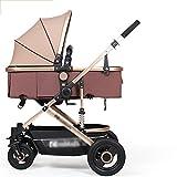 LVZAIXI- 3 In 1 Pushchair Stroller Combi Stroller Buggy Baby Jogger Travel Buggy
