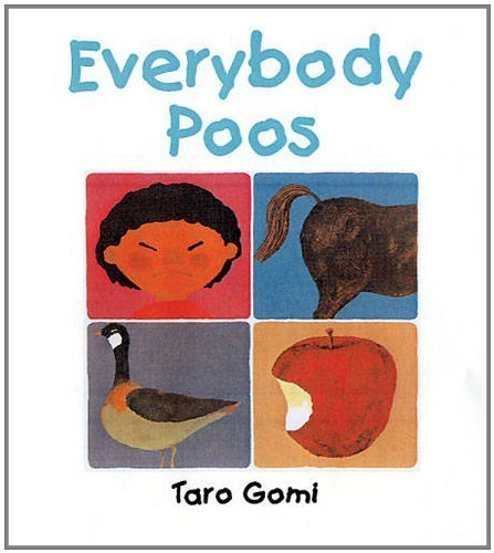 Everybody Poos Mini Edition by Taro Gomi (3-May-2012) Hardcover
