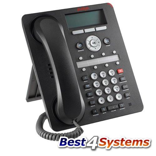 Avaya 700480585-9608IP Deskphone, VoIP-Telefon, H.323, SIP, 8Leitungen (zertifiziert aufgearbeitet)