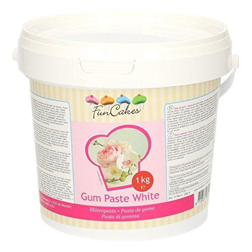 FunCakes Blütenpaste weiß, 1er Pack (1 x 1000 g)