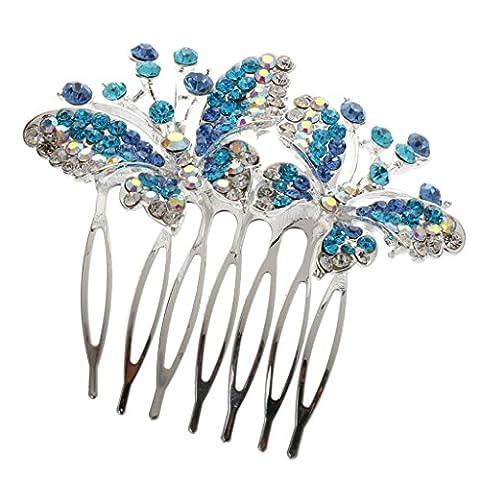 Cristal Strass Coloré épingle à Cheveux Pince à Accessoires Cheveux