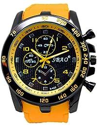 OPAKY Reloj de Moda de los Mombres Modernos de Lujo de Acero Inoxidable Analógico Cuarzo Reloj