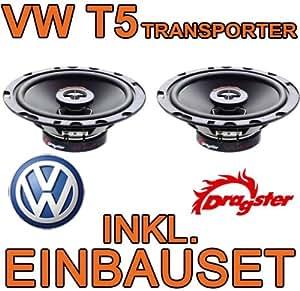 VW t5 transporter-haut-parleur-dragster dCE612 koaxe - 16 cm