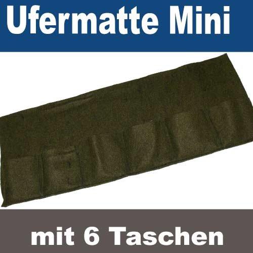 Gebo Pflanztasche Pflanzmatte 6er Bewuchsmatte Mini (Mini, 6er Pflanzmatte)