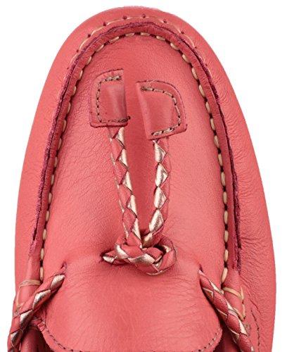 Riva Slip en cuir basse Riva Gorda dames chaussures Corail