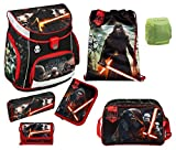 Familando Star Wars Schulranzen-Set 7tlg. Scooli Campus Up mit Sporttasche und Regenschutz SWHZ8252