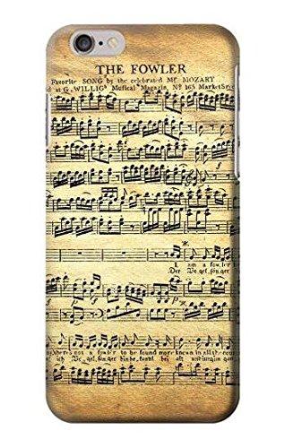 The Fowler Mozart Music Sheet Hülle Schutzhülle Taschen für iPhone 6 Plus iPhone 6s Plus
