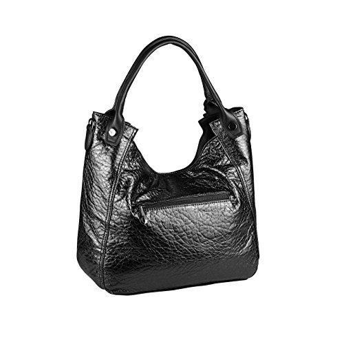 OBC Only-Beautiful-Couture, Borsa a spalla donna marrone bronzo ca.: 42x30x13 cm (BxHxT) nero