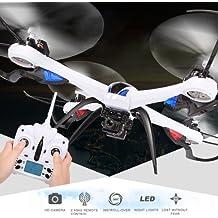 JJRC H16–5d Tarántula X66-assi giroscopio 4-canali 2.4GHz Radio Control Professional drones cuadricóptero con 5.0MP Camera (Black)